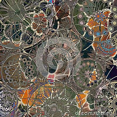 Art grunge background pattern