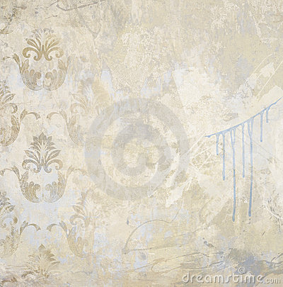 Art grunge painted textured wall background