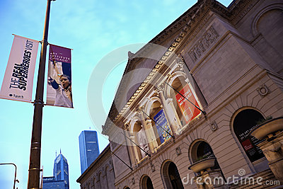 Art Institute of Chicago Editorial Image