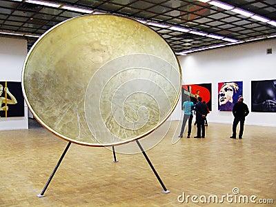Art Moscow 2013 international art fair Editorial Image