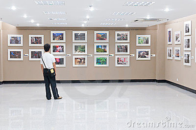 Art museum Editorial Stock Image