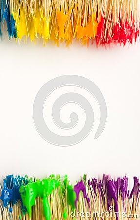 Art paint background