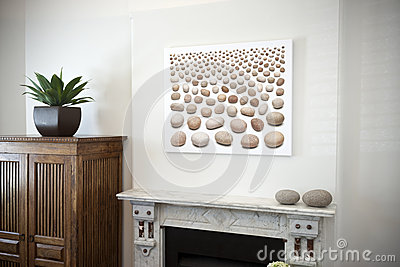 Art Painting Mantlepiece