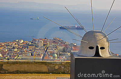 Art and panorama, Naples, italy