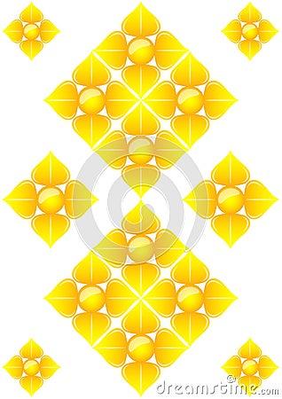 Art pattern of thailand