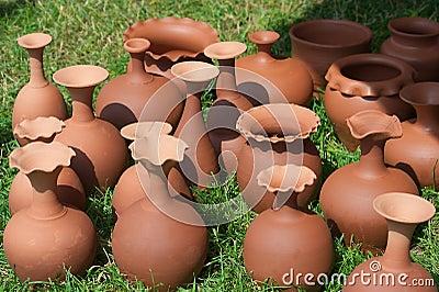 Art of pottery.