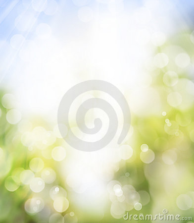 Art spring background