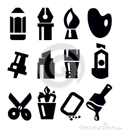 Art tools icon