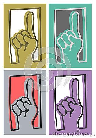 Art up hand
