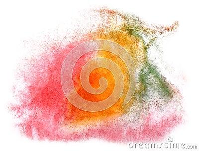 Art watercolor ink paint blob watercolour splash