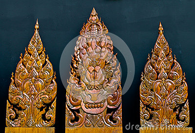 Art of wood carving