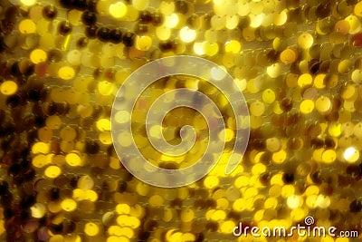 Art yellow lights