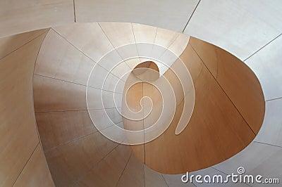 Arte Galler de la escalera 7 de Ontario Gehry Imagen editorial