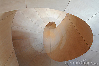 Arte Galler della scala 7 di Ontario Gehry Immagine Editoriale