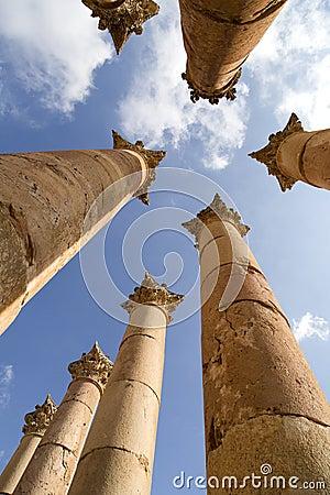 Artemis temple,Jerash