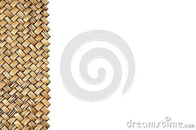 Artesanato de bambu