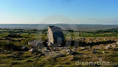 Arthur s stone (Maen Ceti) burial ground in Wales
