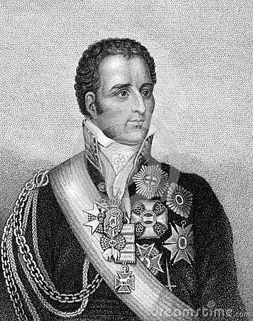 Arthur Wellesley, 1st Duke of Wellington Editorial Stock Image