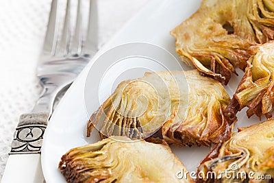 Artichoke tapas