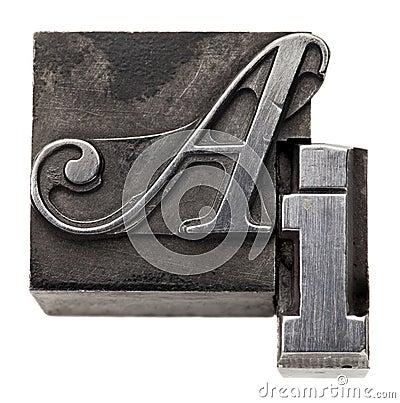 Artificial intelligence acronym AI