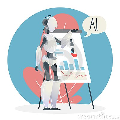 Free Artificial Intelligence Concept. Futuristic Technology And Robot Brain Stock Photography - 130807702