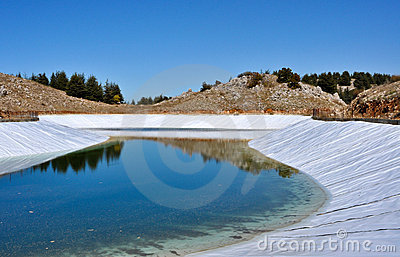 Artificial lake 0027