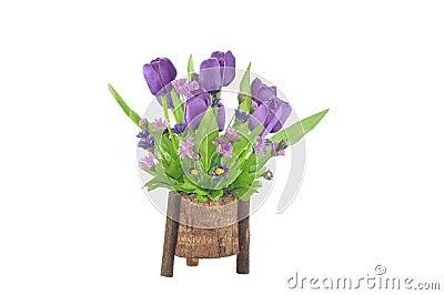 Artificial Tulip flower arrangement