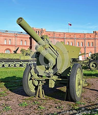 Artillery antitank gun