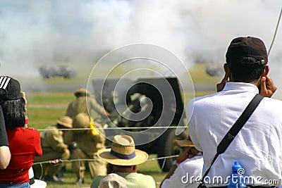 Artillery exhibition