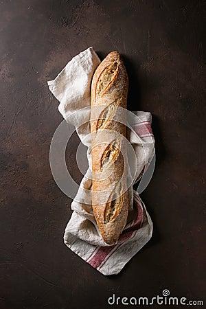 Free Artisan Baguette Bread Royalty Free Stock Photo - 113299215