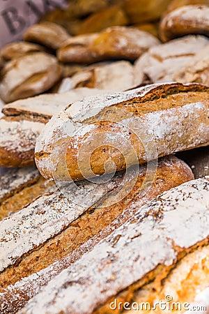 Free Artisan Bread Royalty Free Stock Photography - 54373697