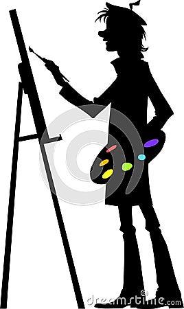 Free Artist At Work Stock Photo - 23406730