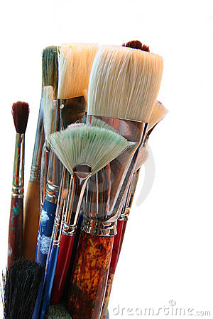 Free Artist Brushes Royalty Free Stock Images - 1413199