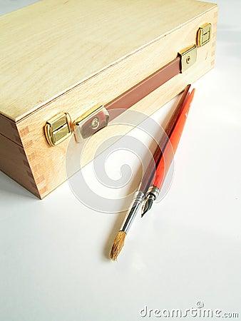 Free Artist Case Stock Image - 101361