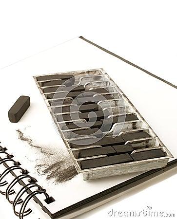Artist charcoal