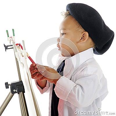 Artist Closeup