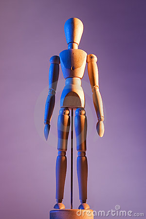 Free Artist Mannequin Royalty Free Stock Image - 924836