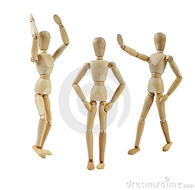 Free Artist Mannequin Laughing Royalty Free Stock Image - 20756266