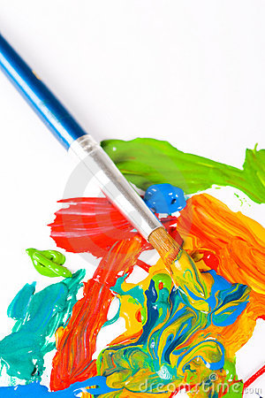 Artist Paint Brush Royalty Free Stock Photos Image 6073468