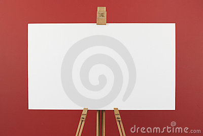 Artist s canvas