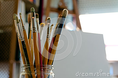 Artist s Paintbrushes