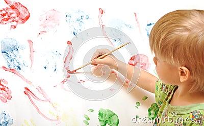 Artist school boy
