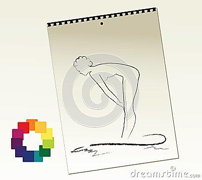 Artist Sketch Pad