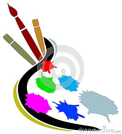 Artist studio logo
