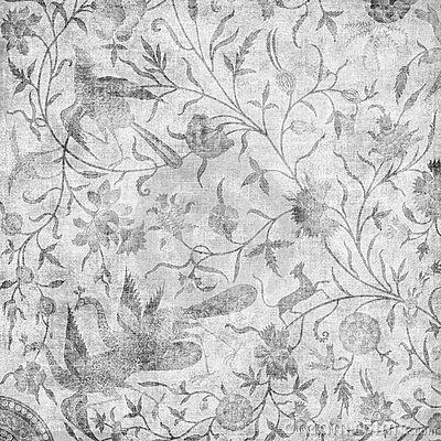 Artisti Batik Asian Floral Design Background