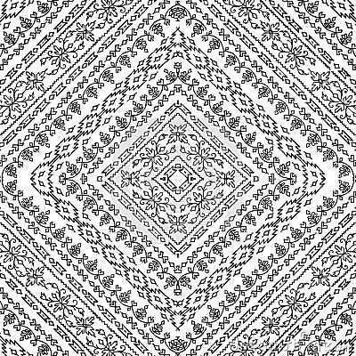 Boho Background Artisti batik floral design background royalty free ...