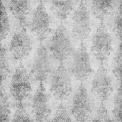 Artisti Batik Paisley Floral Design Background
