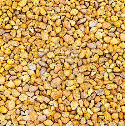 Artistic background of pebbles orange