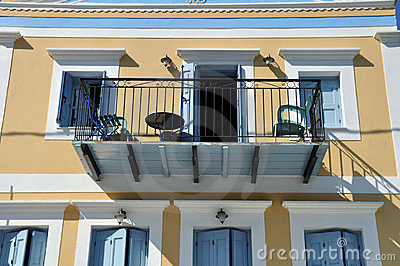 artistic balcony