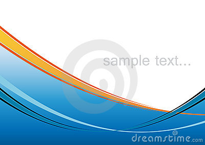 Artistic Blue Background